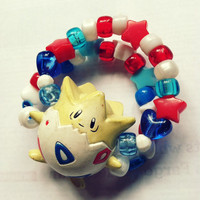 Togepi Pokemon Kandi Bracelet