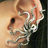 Octopus Ahoy Ear Cuff
