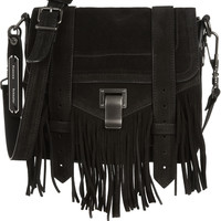 Proenza Schouler - The PS1 Pouch fringed suede shoulder bag