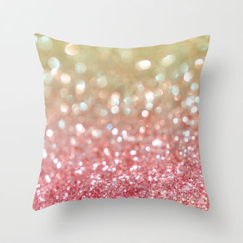 Champagne Tango Throw Pillow by Lisa Argyropoulos | Society6