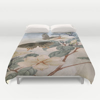 Jasmine And Butterflies Duvet Cover by ALLY COXON | Society6