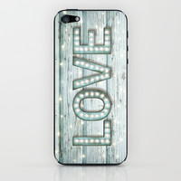 Love is the Light of Your Soul (LOVE lights II) iPhone & iPod Skin by soaring anchor designs ⚓ | Society6