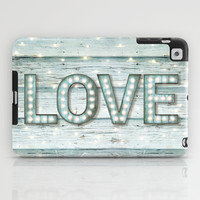 Love is the Light of Your Soul (LOVE lights II) iPad Case by soaring anchor designs ⚓ | Society6