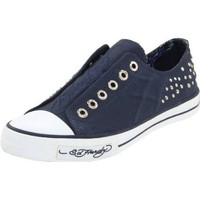 Ed Hardy Dakota Shoes,Navy,11 M US