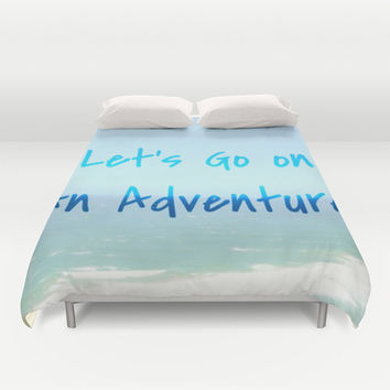 Adventure Duvet Cover by Laura Santeler