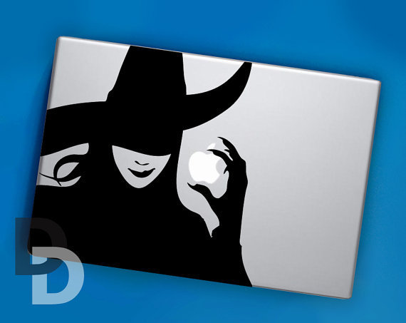Wicked Sticker Decal for MacBook Pro, Macbook Air.