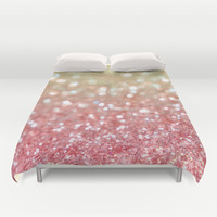 Champagne Tango Duvet Cover by Lisa Argyropoulos | Society6