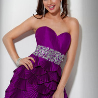 Buy Dazzling Regency A-line Scoop Neckline Empire Mini Sequins Cocktail Dress under 200-SinoAnt.com
