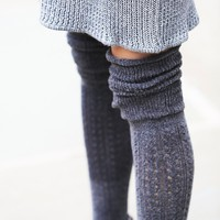 Free People Blanket Pointelle Sock