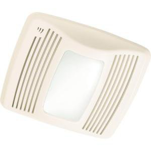 NuTone Ultra Silent 110 CFM Humidity Sensing Ventilation Exhaust Fan, Light and Nightlight without Heater - QTXN110SL at The Home Depot