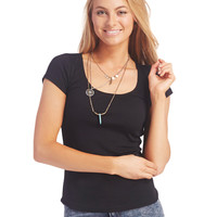 Perfect Layering Tee | Wet Seal