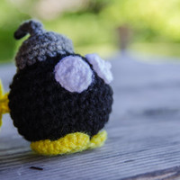 Super Mario Bros Amigurumi Bob omb  Made To Order