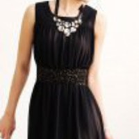 Dame Dress (medium black) - Mode5