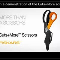 Cuts+More 5-in-1 Multi-Purpose Scissors