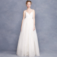 Principessa gown in lace and organza