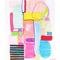 Abstract Drawing 10 Giclee Print by Jaime Derringer at Art.com