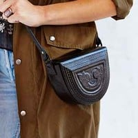 Ecote Tooled Wood Shoulder Bag - Urban Outfitters