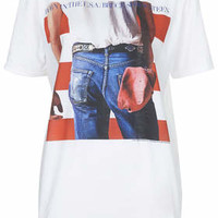 Bruce Springsteen Tee by And Finally - Black