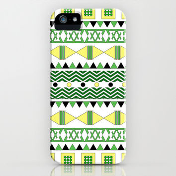 Geometric Citrus iPhone & iPod Case by Alice Gosling | Society6