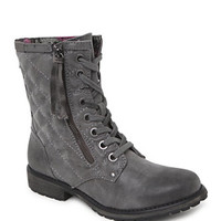 Roxy Rockford Quilted Lace Up Boots at PacSun.com