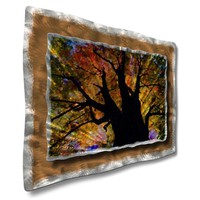 "All My Walls Brilliant Branches Contemporary Wall Art - 23"" x 32"" - LAN00011"