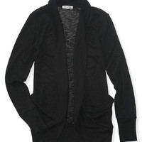 Aeropostale Womens Long Sleeve Knit Cocoon Cardigan