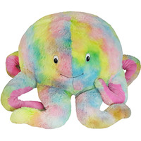 Squishable Rainbow Octopus: An Adorable Fuzzy Plush to Snurfle and Squeeze!
