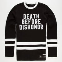 40Oz Nyc Death Before Dishonor Mens Sweatshirt Black  In Sizes