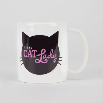 Crazy Cat Lady Coffee Mug Black Combo One Size For Women 24904914901