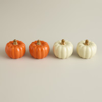 Boxed Pumpkin Salt and Pepper Shakers, Set of 2 - World Market