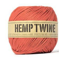 Hemp Fiber Cord . Natural 100% . 20.. on Luulla