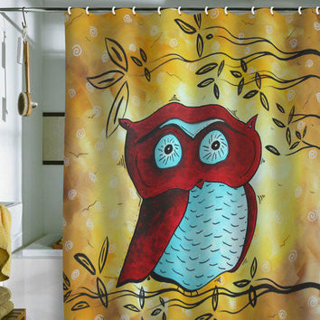 DENY Designs Home Accessories | Madart Inc. Peekaboo Shower Curtain