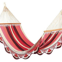 Red In Love Cotton Hammock