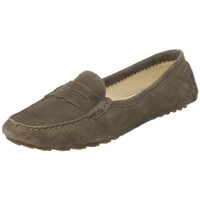 Amiana Women`s 15-A0608 Moccasin,Taupe,9 M US