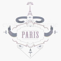 Evoke & Imagine - Paris - Art Print & Canvas