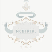 Evoke & Imagine - Montreal - Art Print & Canvas