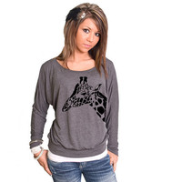 Giraffe Bella Dolman Long Sleeve