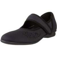 Drew Shoe Women`s Jada Flat,Navy,11 Medium US