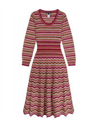 Marc Jacobs - STRIPED KNIT DRESS - mytheresa.com - Luxury Fashion for Women / Designer clothing, shoes, bags