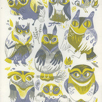 Meg Hunt — Messrs. Owl Screenprint