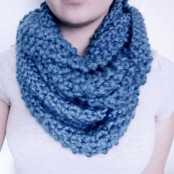 Made-to-Order Hand-Knit Infinity Scarf