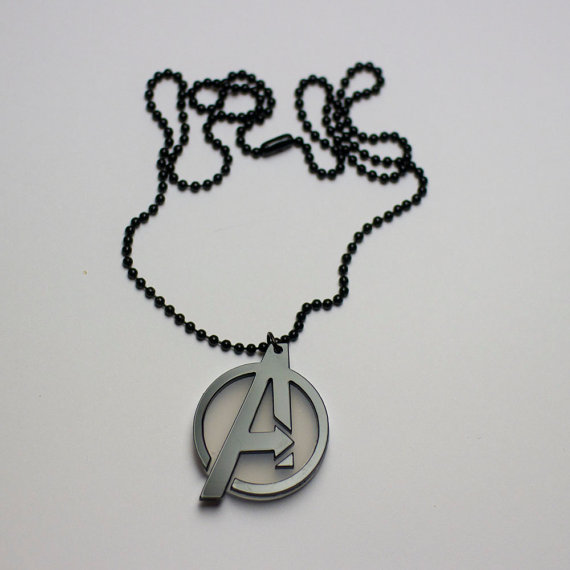 Avengers Logo Pendant Necklace