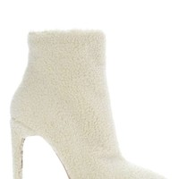 Jeffrey Campbell Vain Shearling Bootie