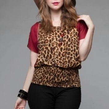 Animal Instinct Top & Necklace