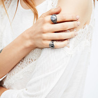 Mixed Ring Pack in Silver - Urban Outfitters