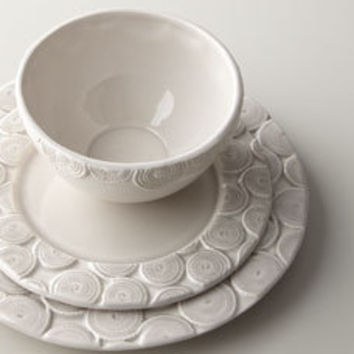 12PC Circulos Dinnerware