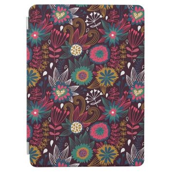 Modern Floral Pattern iPad Air Cover