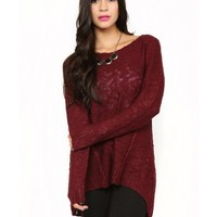 Almost Autumn Knit Top