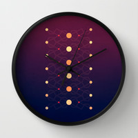 Connecting the dots Wall Clock by VessDSign