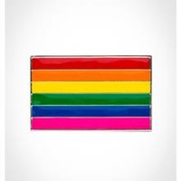 Pride Flag Belt Buckle